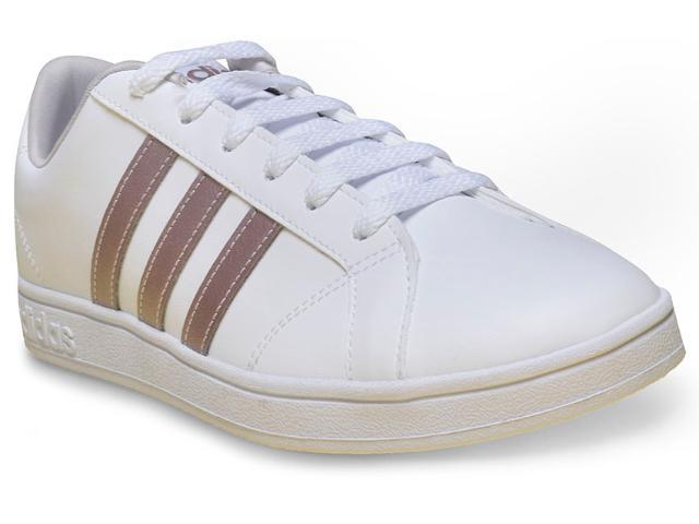 Tênis Feminino Adidas Aw3865 Advantage Branco
