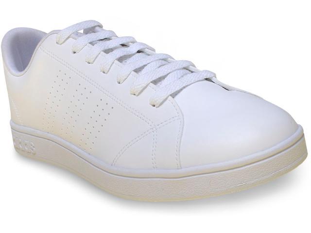 Tênis Masculino Adidas B74685 Advantage Clean  Branco