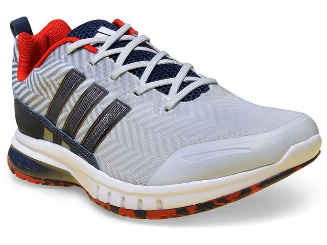 Tênis Masculino Adidas H68348 Skyrocket m Cinza/marinho/vermelho/branco