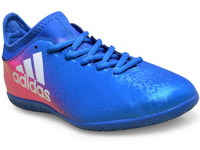 Tênis Masculino Adidas Bb5678 x 16 3 in Azul/pink