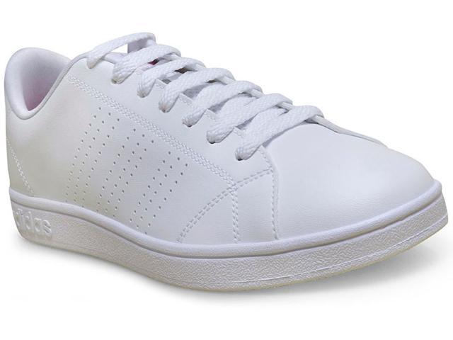 Tênis Feminino Adidas B74574 Advantage Branco