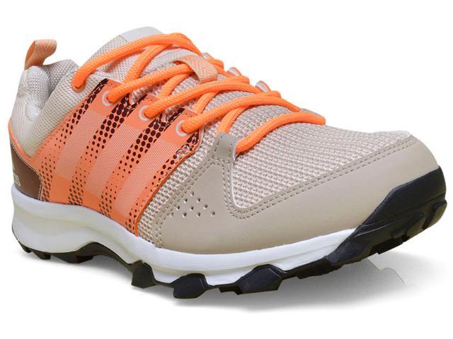 Tênis Feminino Adidas Bb4464 Galaxy Trail Bege/laranja
