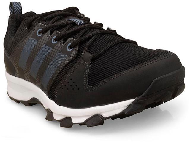 Tênis Masculino Adidas Bb4460 Galaxy Trail Preto/branco