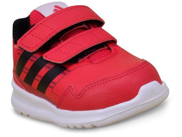 cff4d93a5e0 Tênis Masc Infantil Adidas By8945 Altarun cf Vermelho preto