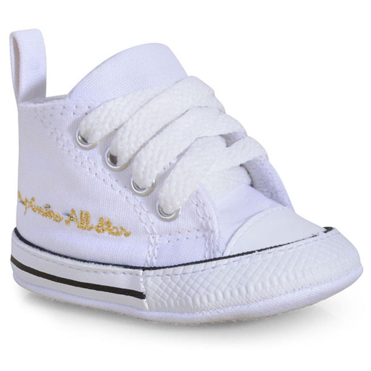 Tênis Uni Infantil All Star Ck04400003 Branco/preto