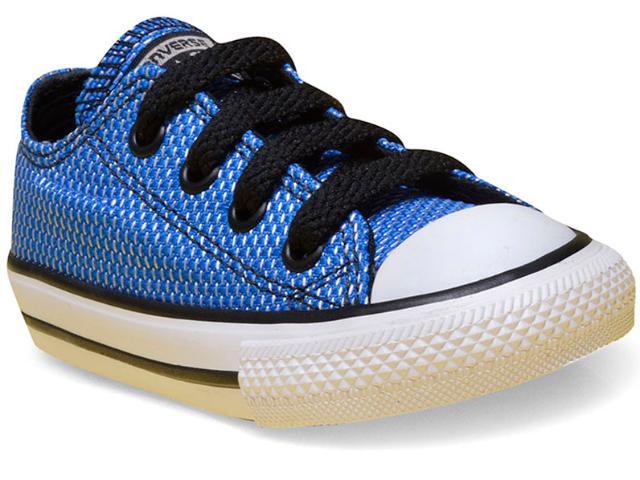 Tênis Masc Infantil All Star Ck04240002 Azul/preto/branco
