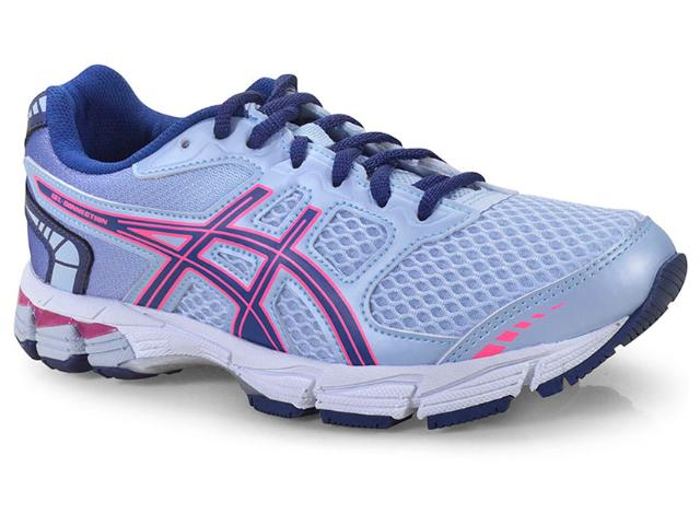 Tênis Feminino Asics 1z22a001.400 Gel Connection Azul/pink