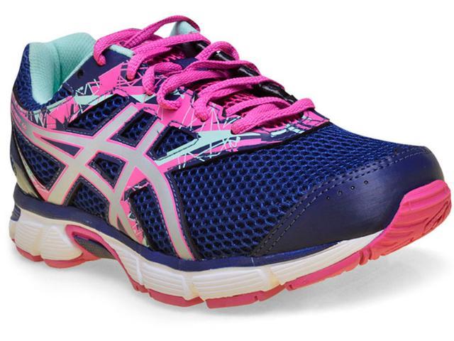 Tênis Feminino Asics T070a.4293 Gel Excite 4 Marinho/pink