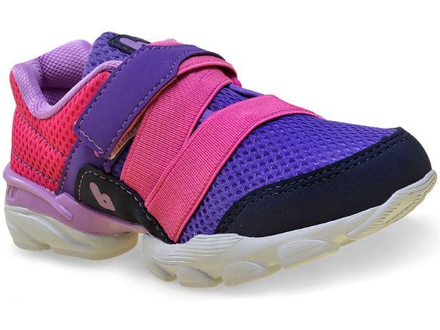 Tênis Fem Infantil Bibi 947015 Drop Roxo/pink/azul
