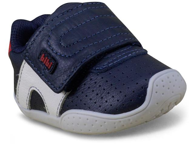 Tênis Masc Infantil Bibi 923153 Azul/branco/vermelho
