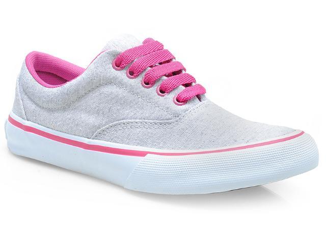 Tênis Feminino Cavaliery 5391249 Rustico Gelo/pink