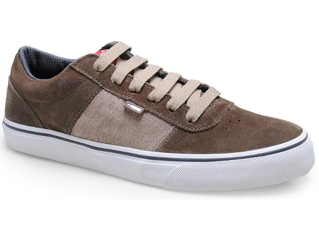 Tênis Masculino Coca-cola Shoes Cc0416 Taupe