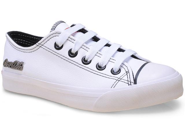 Tênis Feminino Coca-cola Shoes Cc0063 Branco
