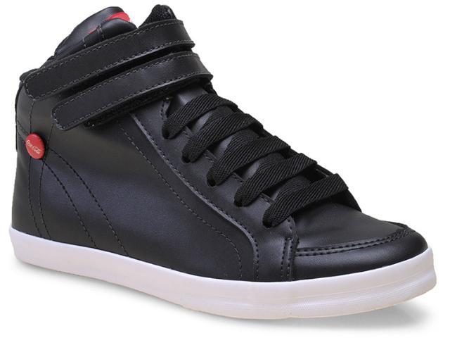 Tênis Feminino Coca-cola Shoes Cc0806 Preto