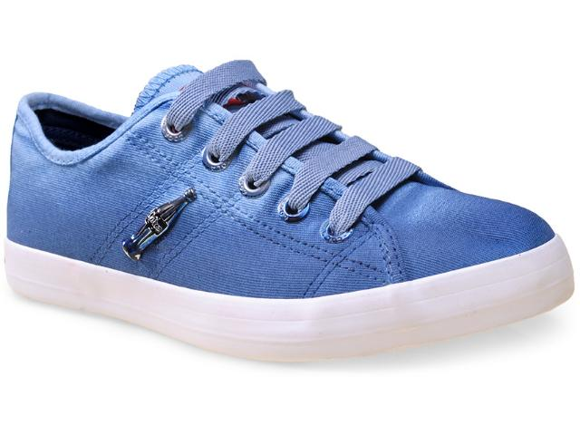 Tênis Feminino Coca-cola Shoes Cc0939 Denim/petrole