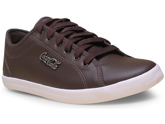 Tênis Masculino Coca-cola Shoes Cc0800 Marrom