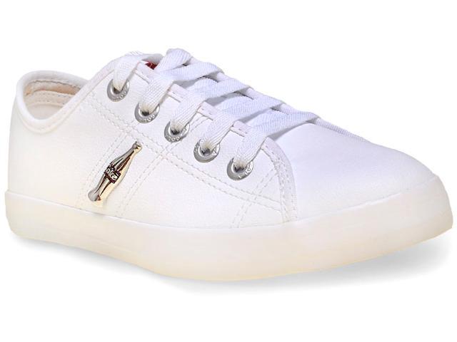 Tênis Feminino Coca-cola Shoes Cc0873 Branco