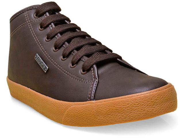Tênis Masculino Coca-cola Shoes Cc1005 Marrom/natural