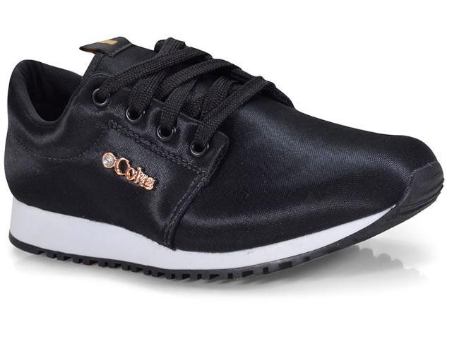 Tênis Feminino Coca-cola Shoes Cc1432 Preto