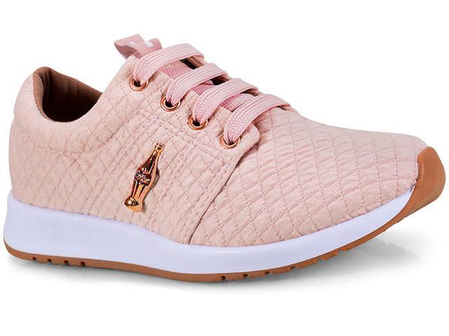 Tênis Feminino Coca-cola Shoes Cc1441  Nude
