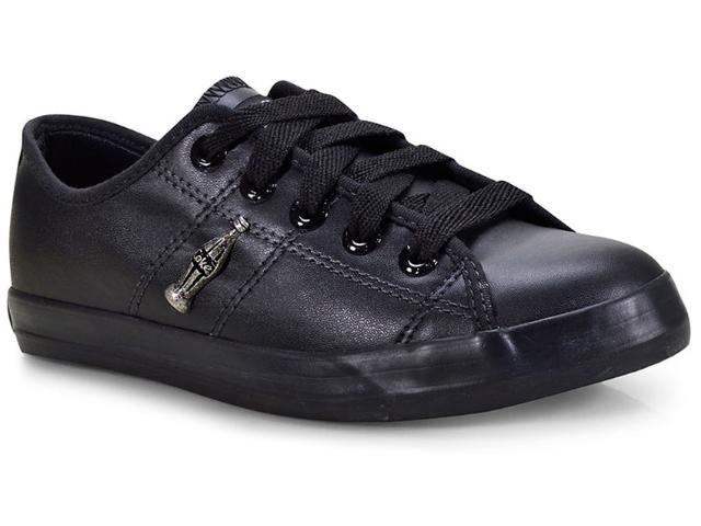 Tênis Feminino Coca-cola Shoes Cc0873 Preto