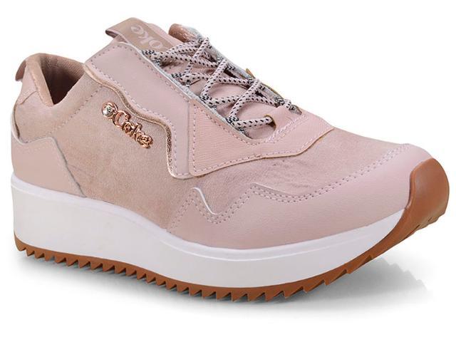 Tênis Feminino Coca-cola Shoes Cc1556 Rose