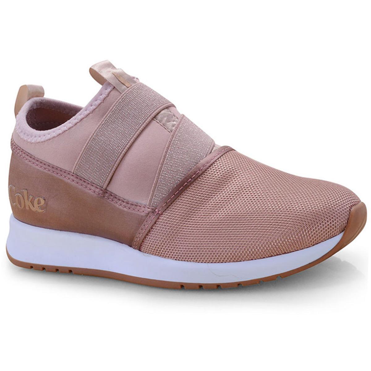 Tênis Feminino Coca-cola Shoes Cc1571 Rose