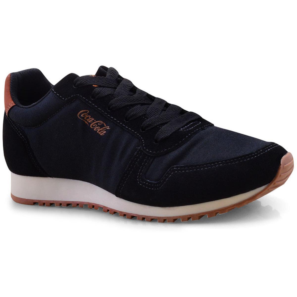 Tênis Masculino Coca-cola Shoes Cc1493 Preto