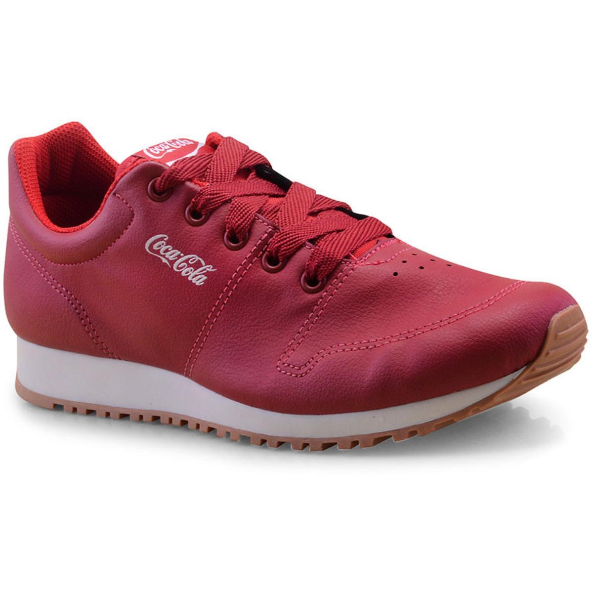 Tênis Masculino Coca-cola Shoes Cc1461 Vermelho