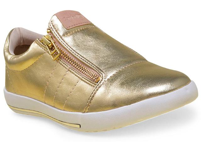 Tênis Feminino Comfortflex 16-59401 Ouro
