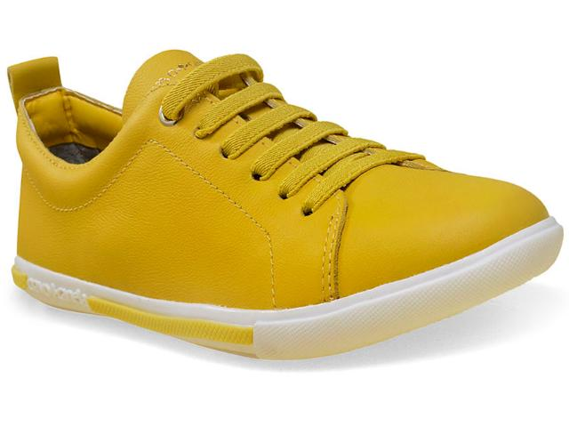 Tênis Feminino Cravo e Canela 96755/5 Amarelo