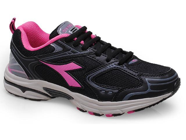 Tênis Feminino Diadora 158400 Zenith 2 w Preto/pink