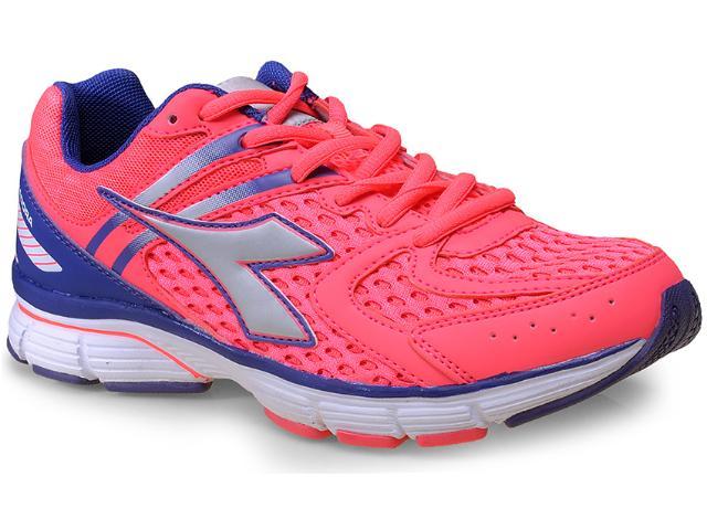 Tênis Feminino Diadora 125115 Inspire 4745 Coral/roxo