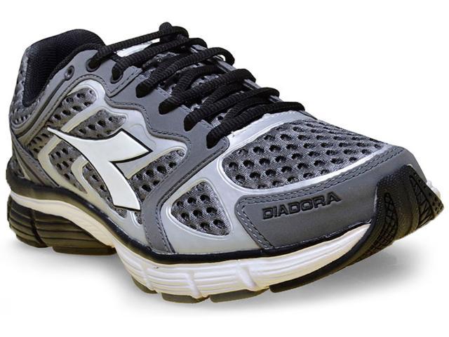 Tênis Masculino Diadora 125700 New Stratus C0333 Grafite/prata
