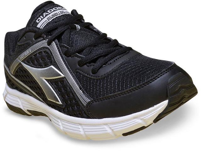 Tênis Masculino Diadora 125507 Easy Run ii C0133 Preto/prata