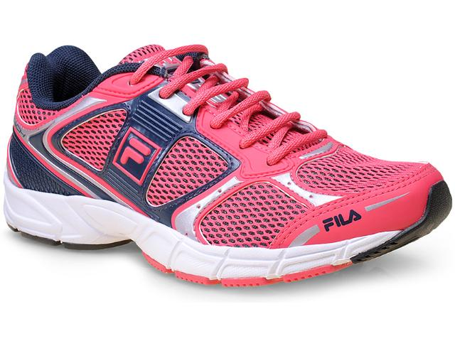 Tênis Feminino Fila 51j412x Reach w 1646 Pink/navy