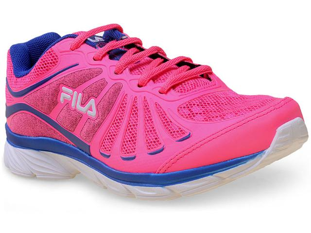 Tênis Feminino Fila 51j457x Glam Pink/azul