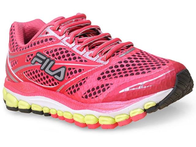 Tênis Feminino Fila 51j452x 2038  Kasi Pink/roxo/lima