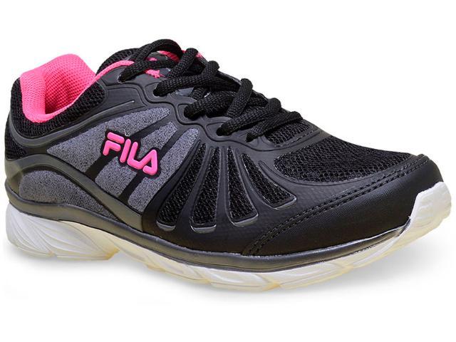 Tênis Feminino Fila 51j457x Glam w Preto/pink