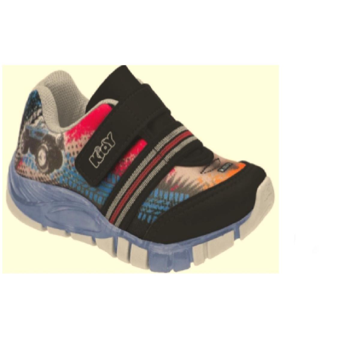 Tênis Masc Infantil Kidy 02001034635 Preto/vermelho/azul