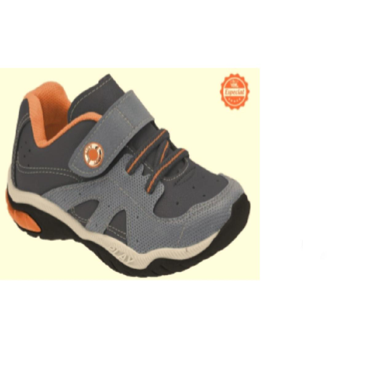 Tênis Masc Infantil Kidy 00705641532 Marinho/azul/laranja
