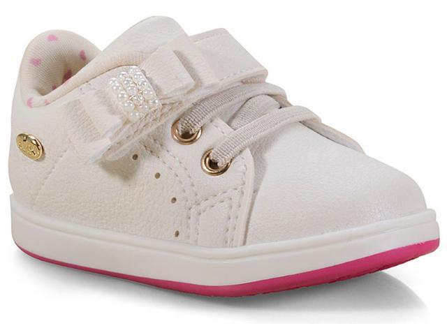 Tênis Fem Infantil Klin 218.023 Off White