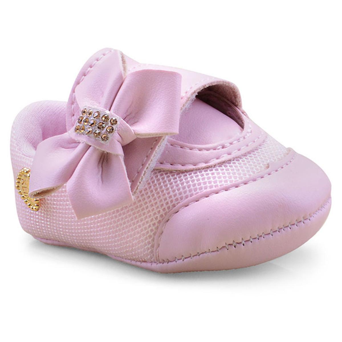 Tênis Fem Infantil Klin 208.272 Rosa