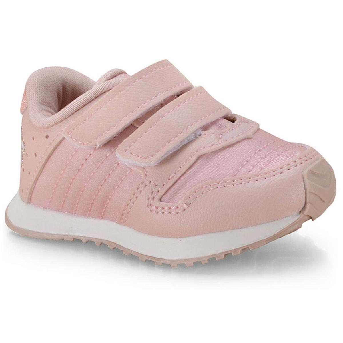 Tênis Fem Infantil Klin 453.051 Rosa Bebê