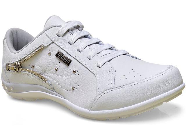 Tênis Feminino Kolosh C0623 Branco/cinza