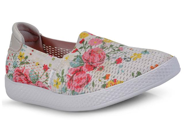 Tênis Feminino Kolosh C1027 Cinza Floral