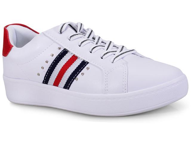 Tênis Feminino Kolosh C1322 Branco/vermelho