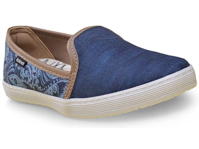 Tênis Feminino Kolosh C0652 Jeans/marinho