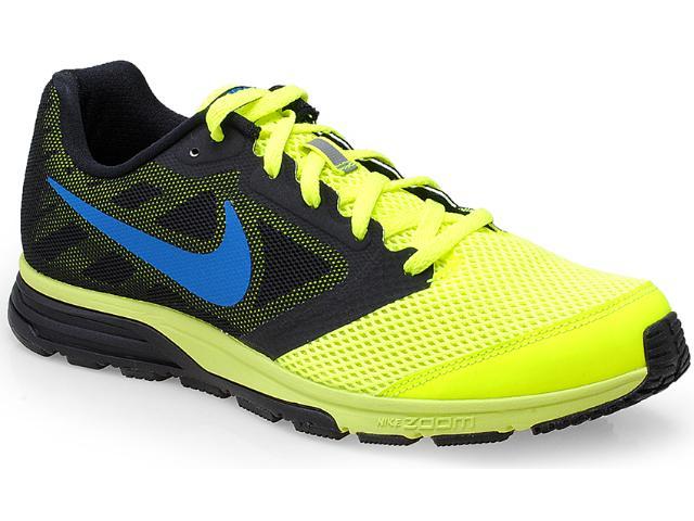 Tênis Masculino Nike 630915-704 Zoom Fly Amarelo Neon/preto