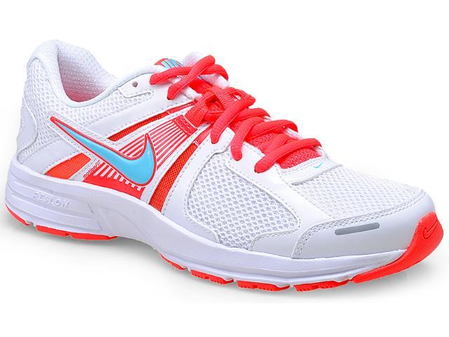 Tênis Feminino Nike 580438-110 Dart 10 Msl Branco/coral
